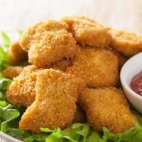 healthy kids party food chicken nuggets