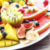 healthy kids party food fruit platter