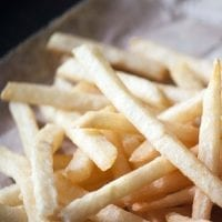 healthy kids party food hot chips