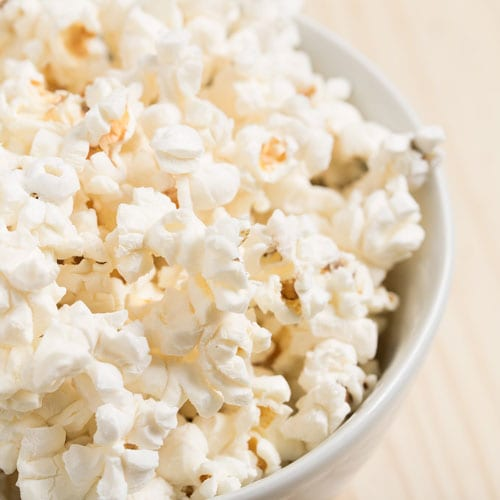 healthy kids party food popcorn