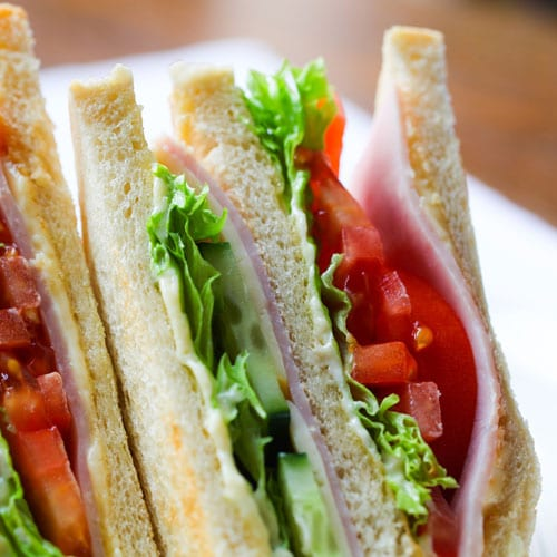 healthy kids party food sandwiches