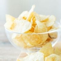 kids party food potato chips