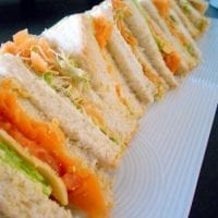 kids party catering gourmet sandwiches