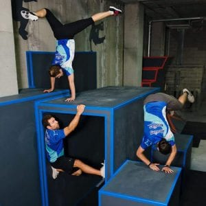 friday night fun parkour course